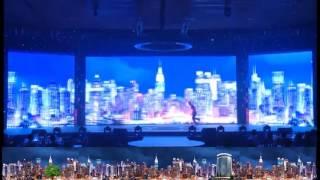 Múa tương tác màng hình panorama