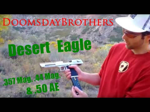 Desert Eagle Ultimate Review: All Three Calibers (.50 AE, .44 Mag, .357 Mag)