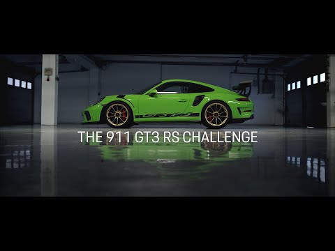 The 911 GT3 RS Challenge ? Level 2: Stage Time.