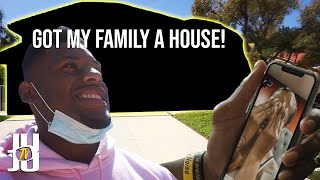 Just bought a house for my family! // JuJu Smith-Schuster Vlogs