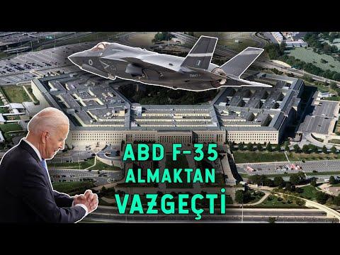 ABD Bile F-35 Almaktan Vazgeçti! UÇAKLAR ÇÖP OLDU