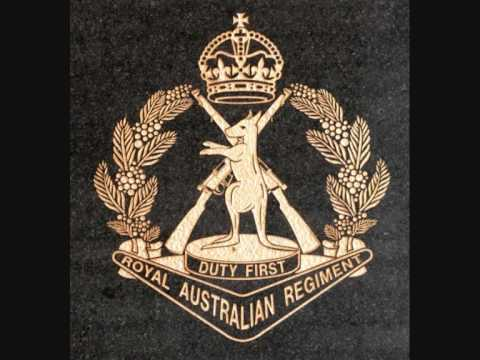 Dominique is the marching cadence for 5 Battalion, Royal Australian Regiment. Is this not great or what!,