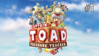 Twitch Livestream | Captain Toad: Treasure Tracker Part 1 [Switch]