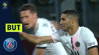 But Achraf HAKIMI (90' +4 - PSG) FC METZ - PARIS SAINT-GERMAIN (1-2) 21/22