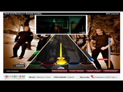 Baixar Guitar Flash: Wolf and Raven por Sonata Arctica 100% FC Expert