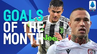 Nainggolan's Masterpiece and Dybala's Belter! | Goals Of The Month | October 2019 | Serie A