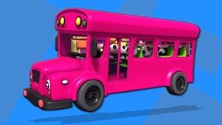 Räder auf dem Bus   Kinderlieder   Song For Kids   Kids Rhymes   Bao Panda   Wheels On The Bus