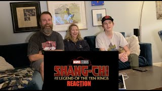 Marvel Studios Shang Chi and the Legend of the Ten Rings Official Teaser   REACTION!!!!!   HD 1080p