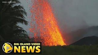 Hawaii Volcano Eruption Update - Saturday Morning (May 19, 2018)