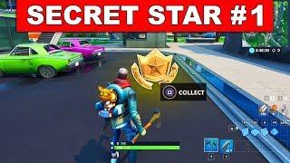 WEEK 1 SEASON 9 SECRET BATTLE STAR LOCATION! - Find the Secret Battle Star in Loading Screen 1