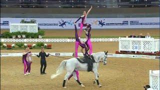 CVI Doha 2015 - Team Lütisburg - Free Style Round2 - Swiss Vaulters