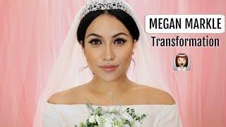 MEGHAN MARKLE Bride Makeup Transformation !!!