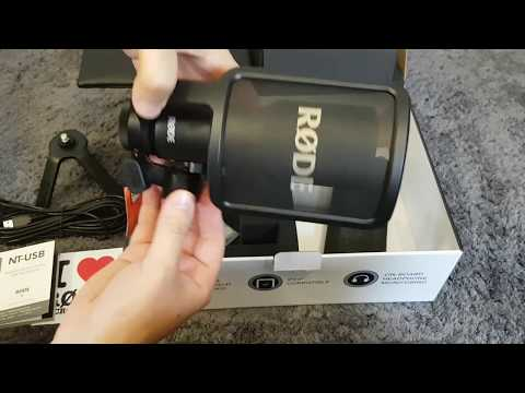 Rode NT-USB Mikrofon Unboxing german HD★Twitch und Let's Play ich komme .
