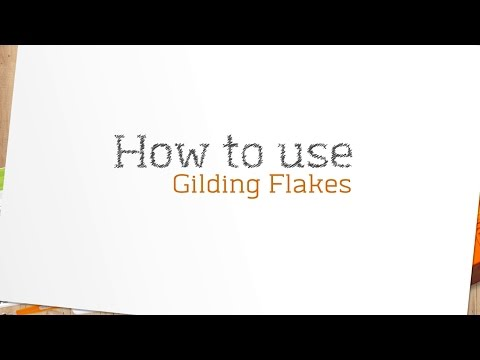 Nuvo Gilding Flakes - Silver Bullion 200ml