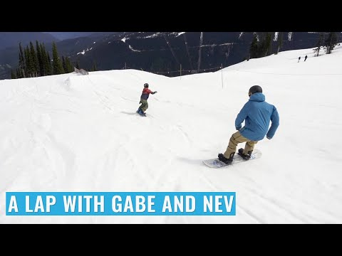 A Lap with Gabe and Nev in Whistler Park