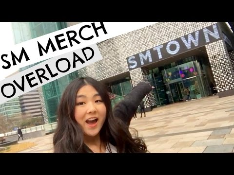 SM COEX ARTIUM! So much SM merch | Seoul Korea Day 3