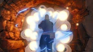 Sasuke vs Raikage, Darui and Gaara