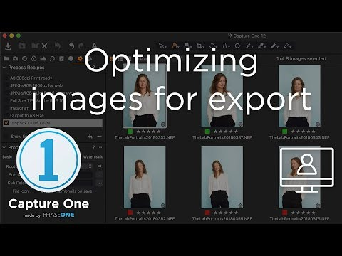 Optimizing for Export | Webinar | Capture One 12