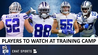 Cowboys Training Camp: 10 Players To Watch At 2020 Dallas Cowboys Training Camp