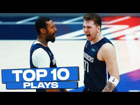 Top 10 Dallas Mavericks Plays of The Year! ⭐