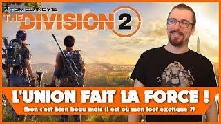 vidéo test Tom Clancy The Division 2 par Bibi300