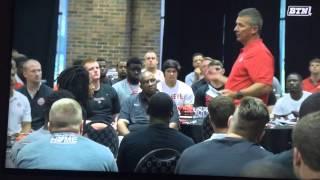 Urban Meyer powerful speech to his  Football team. .WOW