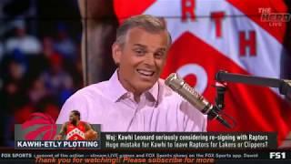[Breaking News] The Herd   Woj: Kawhi Leonard seriously considering re-signing with Raptors