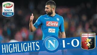 Napoli - Genoa 1-0 - Highlights - Giornata 29 - Serie A TIM 2017/18