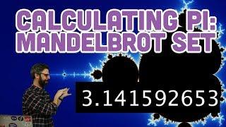 Coding Challenge #141: Calculating Digits of Pi with Mandelbrot Set