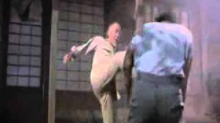 Karate Kid Mr Miyagi Dealing Pain