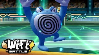 The Grapes of Poliwrath - Pokemon Let's Go Pikachu & Eevee Wi-Fi Battle (1080p) Draft League!