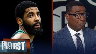 Can Kyrie and the Nets compete without Kevin Durant in year one? | NBA | FIRST THINGS FIRST