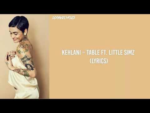 Kehlani –Table Ft. Little Simz (Lyrics)