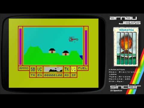 KRAKATOA Zx Spectrum by Abbex Electronics