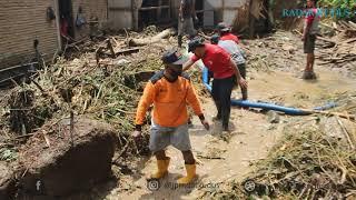 Duh Banjir Bandang dan Longsor Terjang Dua Desa