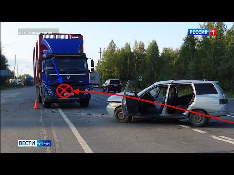 В Прилузском районе произошло смертельное ДТП. Происшествия в Республике Коми 26.08.2021