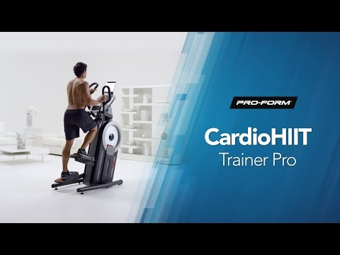 video ProForm Cardio HIIT Trainer Pro