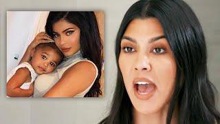 Kourtney Kardashian Gives Kylie Jenner Parenting Advice