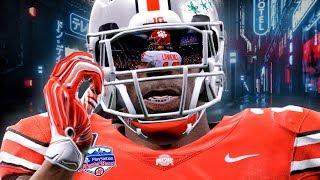 OHIO STATE vs CLEMSON   NCAA FOOTBALL 20 CFP Fiesta Bowl! Madden 20 Mod Gameplay