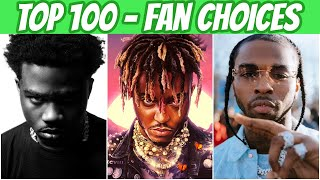 TOP 100 RAP SONGS OF 2020! (FAN CHOICES)