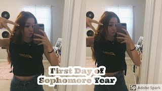 GRWM vlog: first day of sophomore year