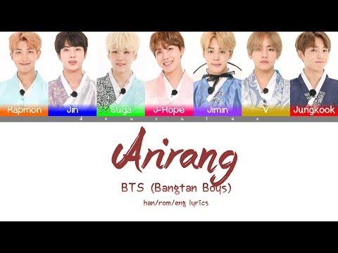 *CORRECTION IN DESCRIPTION* BTS (방탄소년단) - 'ARIRANG(아리랑)' Lyrics (Color Coded Han/Rom/Eng/가사)