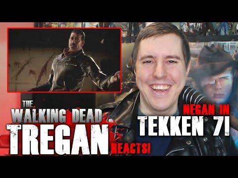Tregan Reacts to Negan's Tekken 7 Gameplay Footage Trailer!
