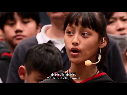 聽見台灣-原聲與波蘭同唱茉莉花拍手歌 Vox Nativa and Poznan Boys' Choir Sing Together in Taiwan