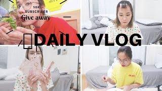 GIVEAWAY + DAILY VLOG| Cuộc sống những ngày gần đây |DU HỌC SINH HÀN QUỐC ♡ Rin Go