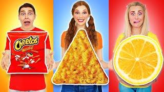 HÌNH HỌC THÁCH thức ĂN | Ăn Sôi nổi và Tổng không Thể thực Phẩm Multi DO Challenge