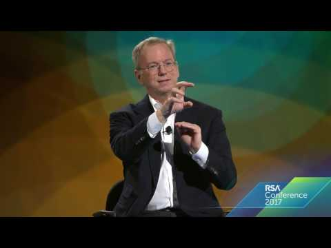 Eric Schmidt | The Current State of Futuristic Technology | RSAC 2017