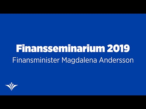 Det ekonomiska läget med finansminister Magdalena Andersson