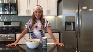Kid Size Cooking—Pasta with Stir Fried Veggies