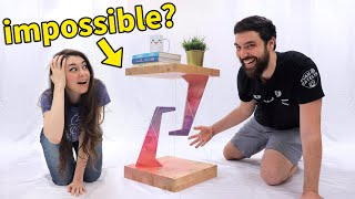 Making a Mind-Blowing *Impossible* Tensegrity Table!